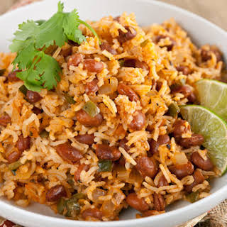 Mexican Rice and Beans.