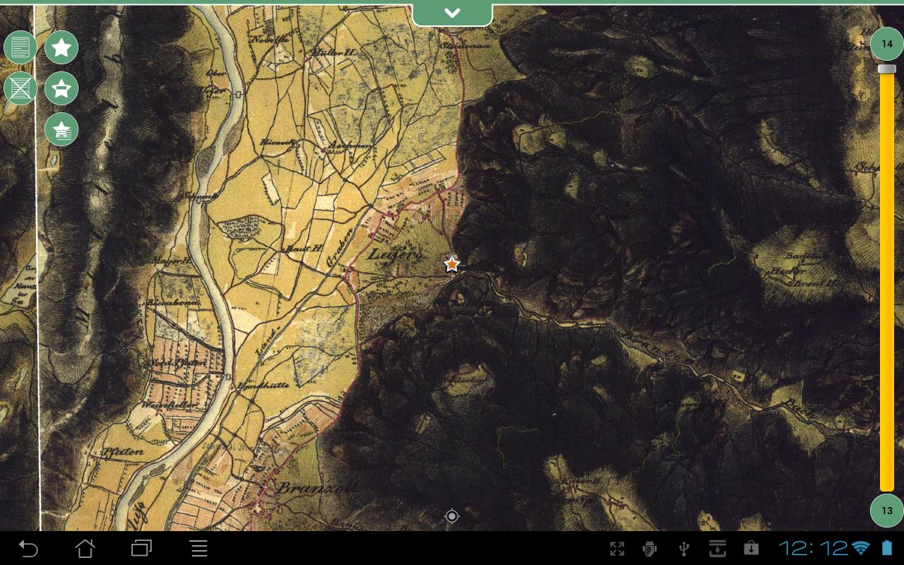 Geopaparazzi - screenshot