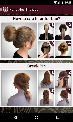 Birthday Hairstyles tutorial