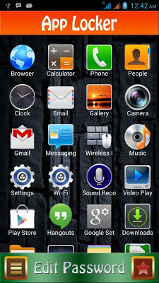 AppLocker - screenshot