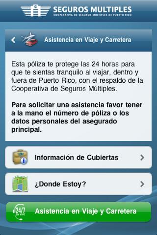 Seguros Múltiples - screenshot