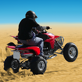 4x4 Off-Road Desert ATV