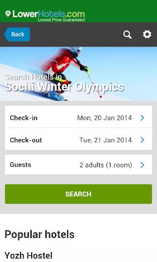 Sochi Hotels Winter Olympics
