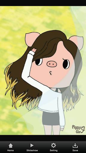 Piggy Girlのイラスト集