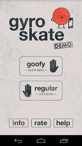 Gyro Skate Demo