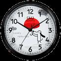 QQwatch 캐릭터 시계 위젯 icon