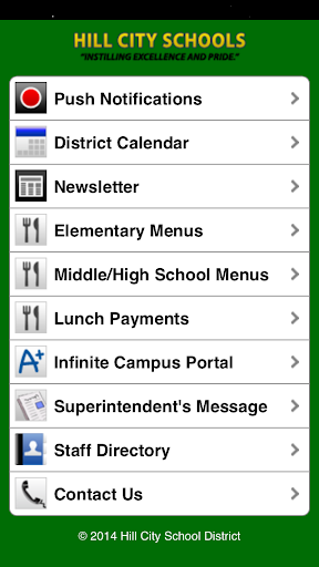 Hill City School District