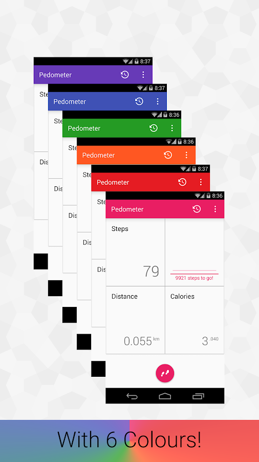 Pedometer- screenshot