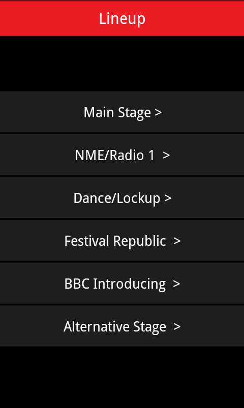 Leeds Festival 2011 Guide- screenshot