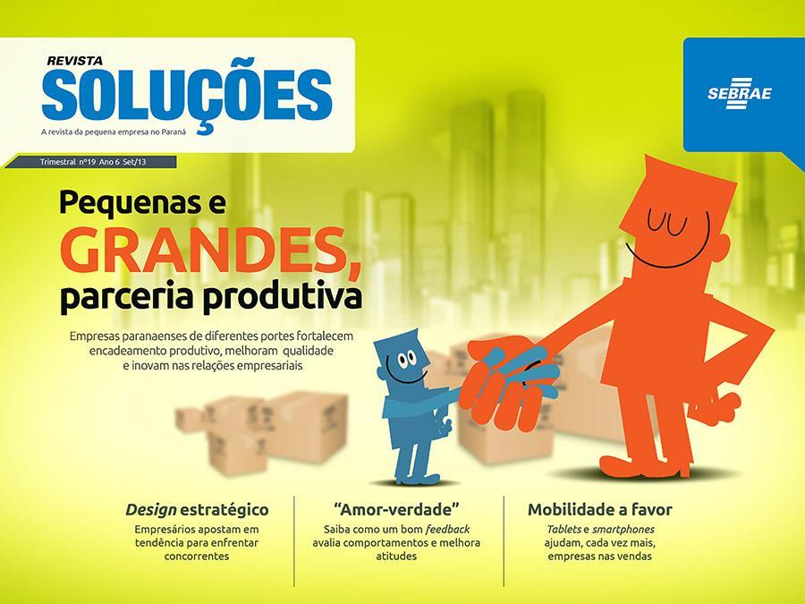 Revista Soluções SEBRAE/PR - screenshot