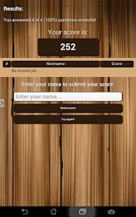 Shezan Quiz App- screenshot thumbnail
