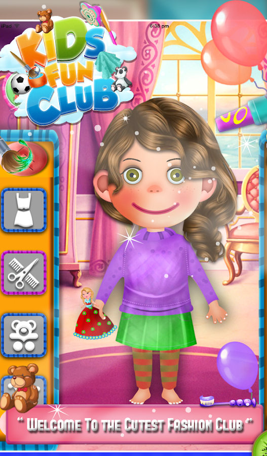 Kids Fun Club- screenshot