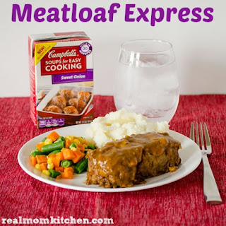 Meatloaf Express and Campbell's Soups for Easy Cooking.