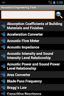 Acoustics Engineering Pack