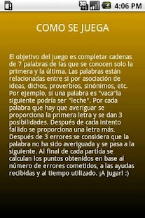 Palabras Encadenadas Lite- screenshot thumbnail
