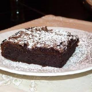 Fudgy Flourless Chocolate Cake.