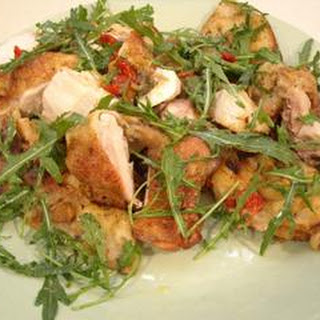 Chicken on Focaccia with Rocket Recipe