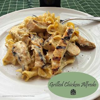 Grilled Chicken Alfredo.