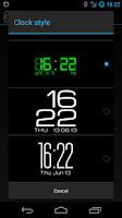 Screenshot of Clocki for SmartWatch