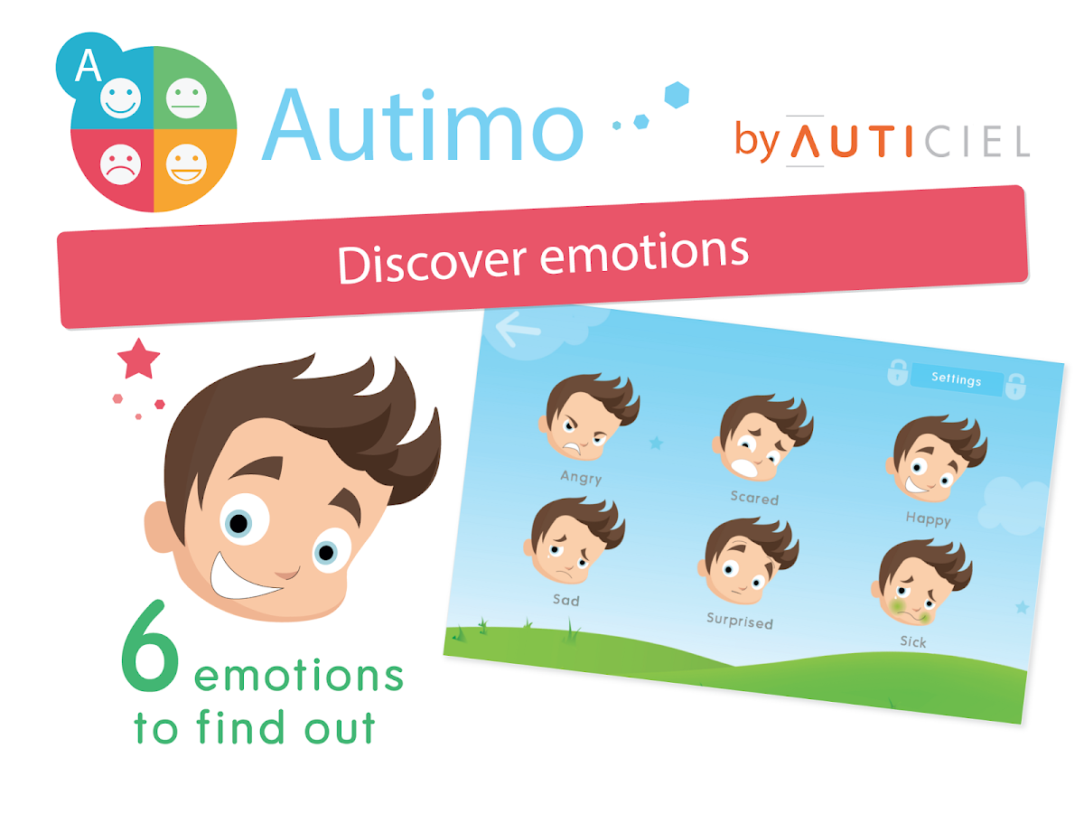 Autimo - Discover emotions- screenshot