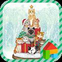 Cats Tree LINE Launcher theme icon