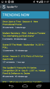SpoilerTV App- screenshot thumbnail