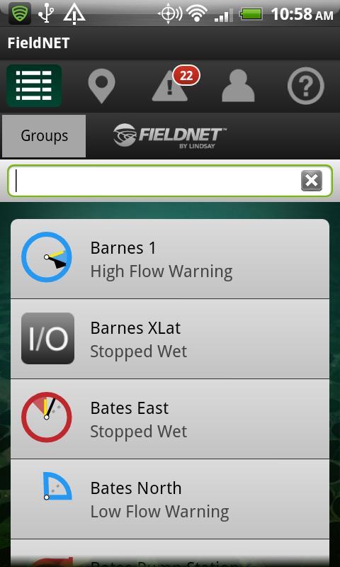 FieldNET Mobile- screenshot