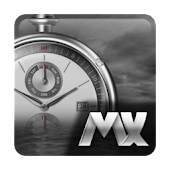 Time Tears Watch MXHome Theme