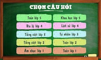 Screenshot of Dau tri voi lop 5