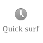 Quick surf icon