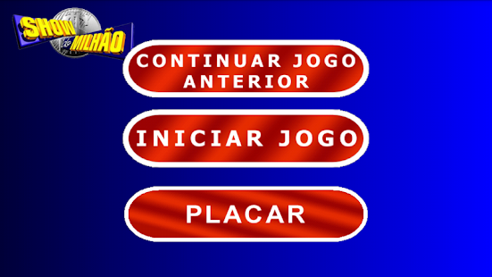 Show do Milhão Quiz - screenshot thumbnail