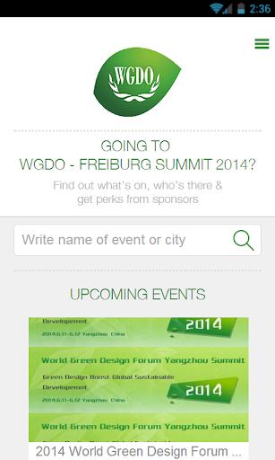 WGDO - Freiburg Summit 2014