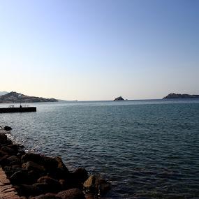 seaside by Soumik Mondal - Landscapes Waterscapes ( gereece )