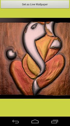 Shri Ganesha Emboss Paintings