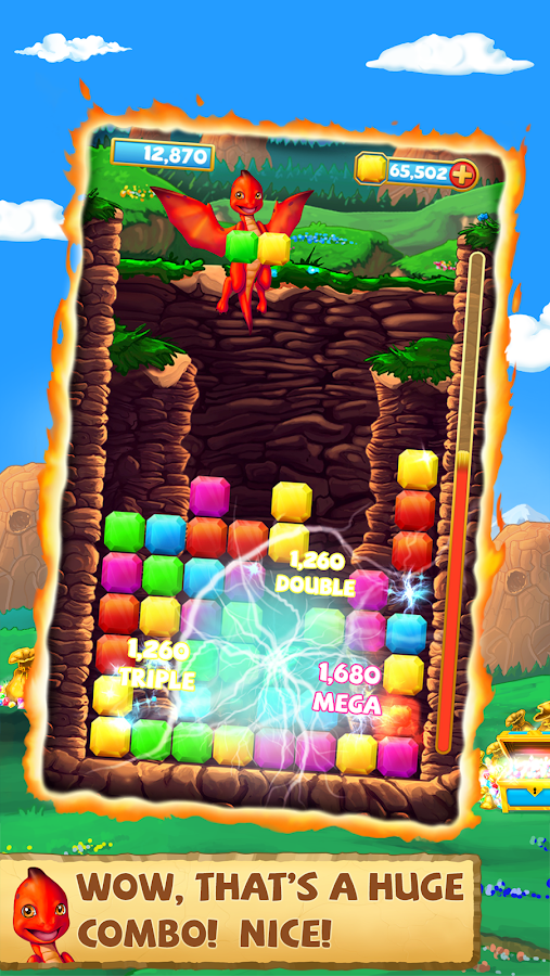 Dragon Drop Frenzy- screenshot