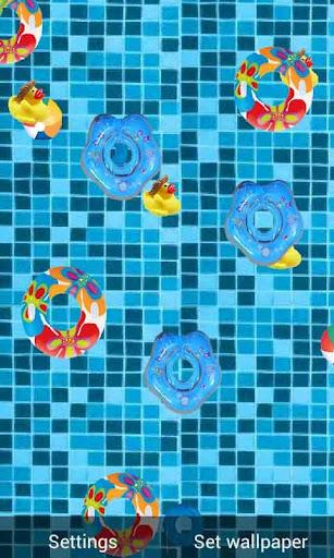 Swimming Pool Water Ripple LWP