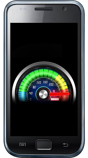 Futuristic meter battery