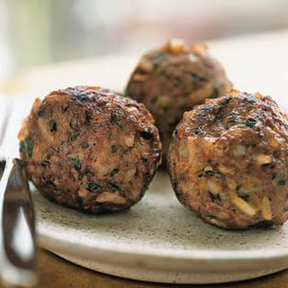 Little Lamb Meatballs.