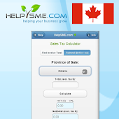 Canadian Sales Tax Calculator