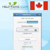 Canadian Sales Tax Calculator