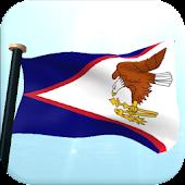 American Samoa Flag 3D