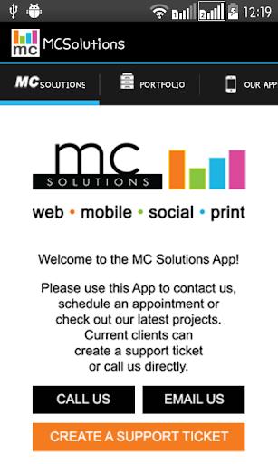【免費生產應用App】MC Solutions-APP點子