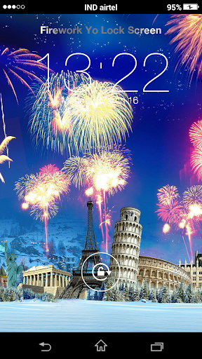 Firework Yo Lock Screen