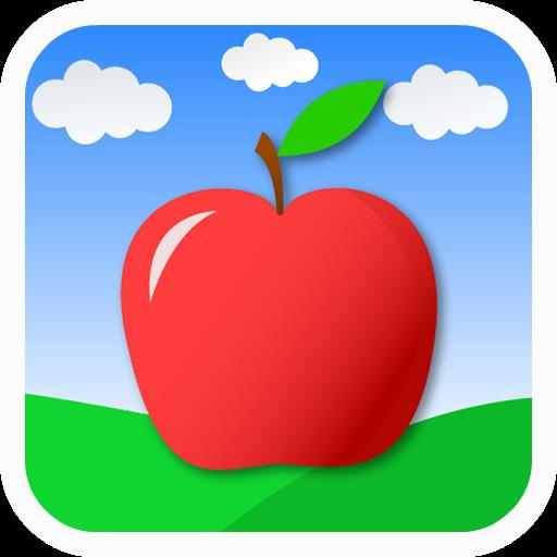 切開的蘋果 LOGO-APP點子
