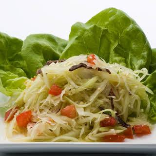 Green Papaya Salad.