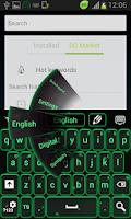 Screenshot of Neon Keyboard Firefly