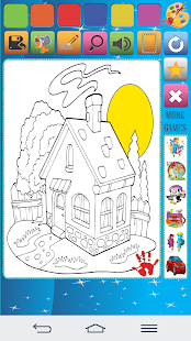 House Coloring Book - náhled