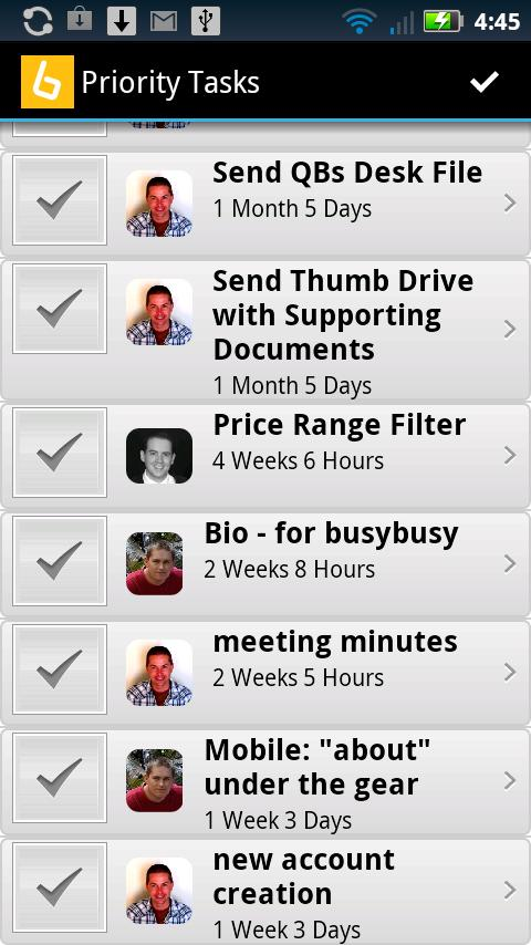 busybusy - screenshot
