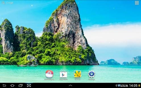 玩個人化App|海灘動態桌布免費|APP試玩