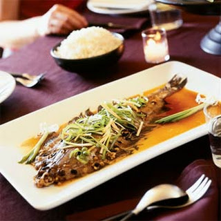 Steamed Sole with Black Bean Sauce (Dul See Zing Tat Sa Yu).